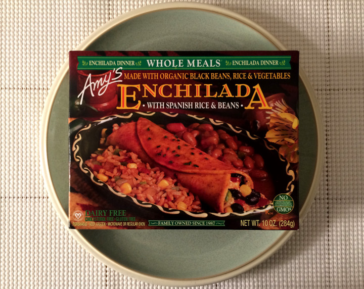 Amy's Enchilada with Spanish Rice & Beans