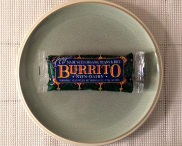Amy's Non-Dairy Burrito