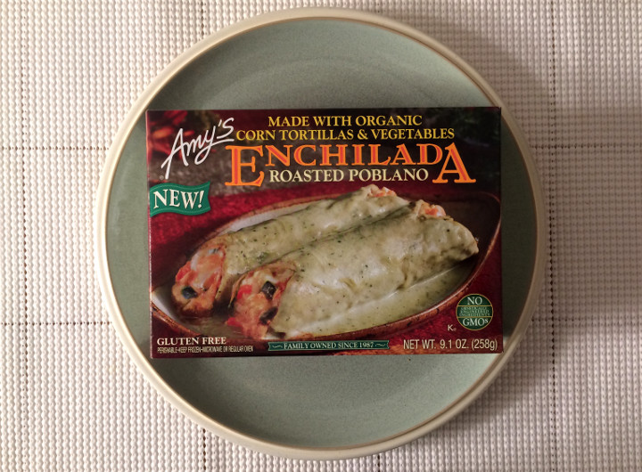 Amy's Roasted Poblano Enchilada