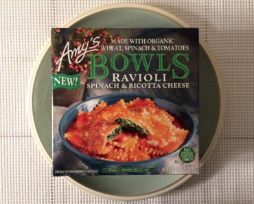 Amy's Spinach & Ricotta Cheese Ravioli