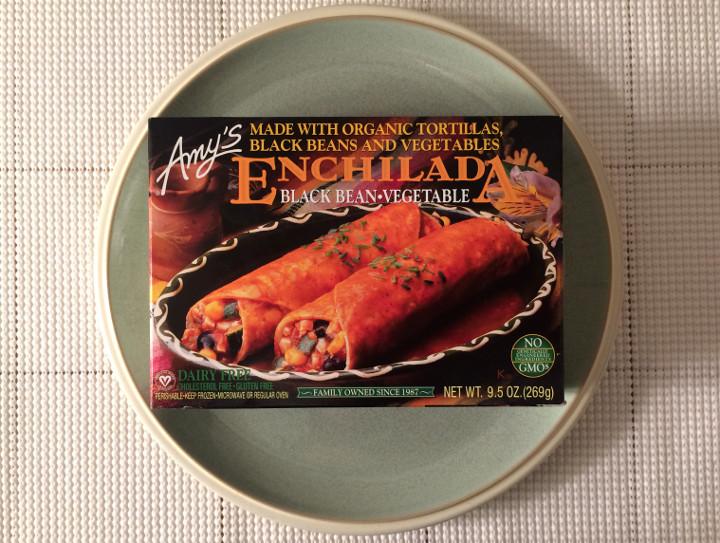 Amy's Black Bean Vegetable Enchilada