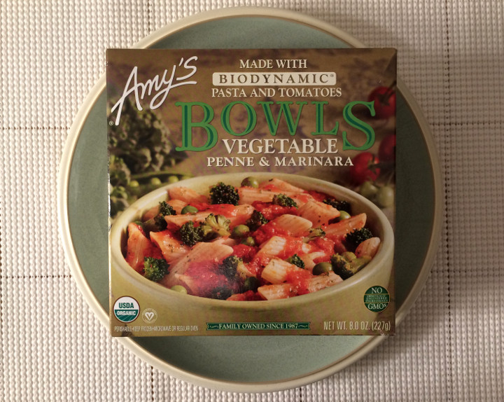 Amy's Vegetable Penne & Marinara Review