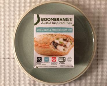 Boomerang's Chicken & Mushroom Pie