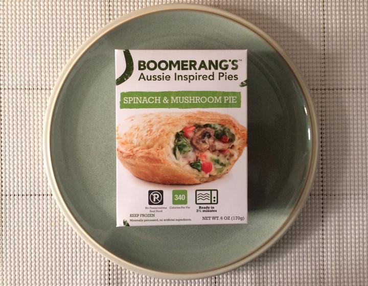 Boomerang's Spinach & Mushroom Pie