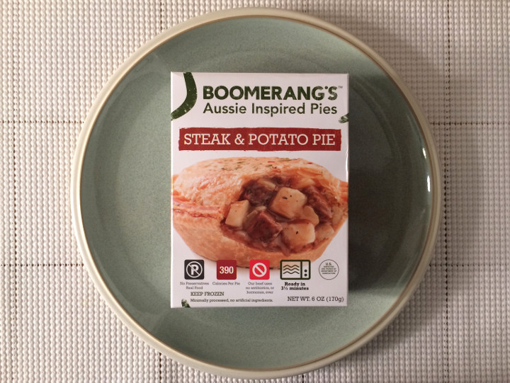 Boomerang's Steak & Potato Pie