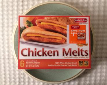 Sandwich Bros. Chicken Melt Flatbread Pocket Sandwich Review