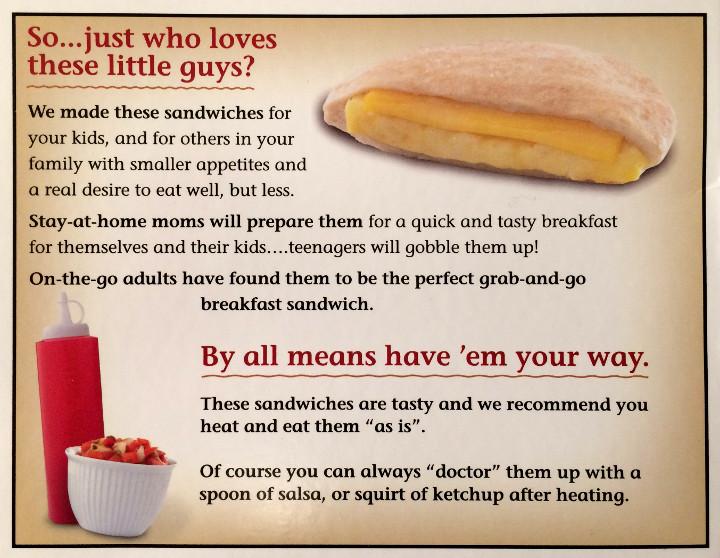 Sandwich Bros. Egg & Cheese Flatbread Pocket Sandwich