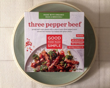 Good Food Made Simple Three Pepper Beef