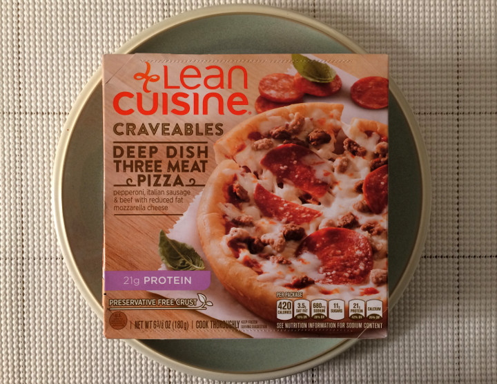 Lean Cuisine Deep Dish Three Meat Pizza