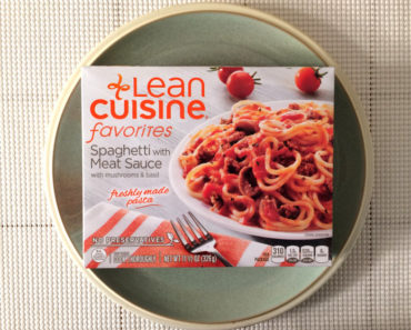 Lean Cuisine Spaghetti with Meat Sauce