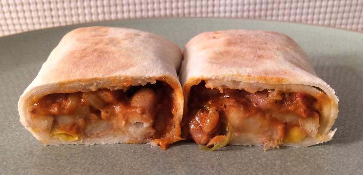 Udi's Bean & Green Chile Burrito