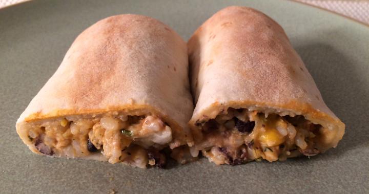 Udi's Chicken Burrito