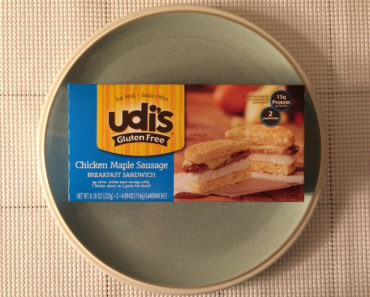 Udi's Chicken Maple Sausage Breakfast Sandwich