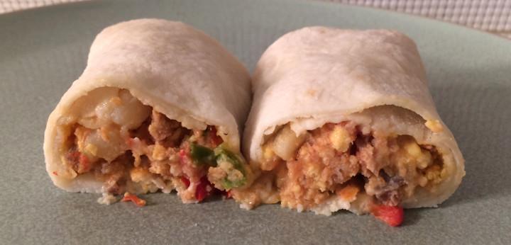 Udi's Sausage Breakfast Burrito