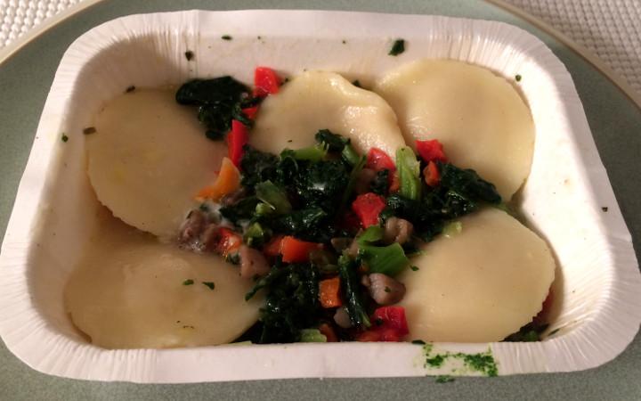 Udi's Sweet Potato Ravioli