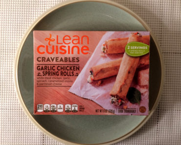 Lean Cuisine Garlic Chicken Spring Rolls