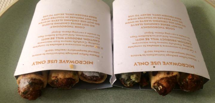 Lean Cuisine Garlic Chicken Spring Rolls