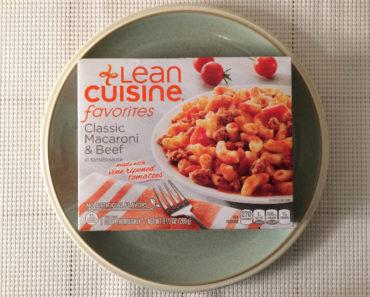 Lean Cuisine Classic Macaroni & Beef