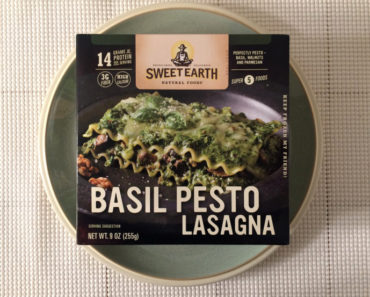 Sweet Earth Basil Pesto Lasagna