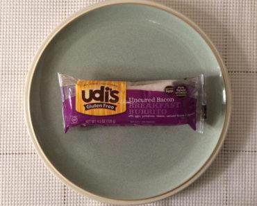 Udi's Uncured Bacon Breakfast Burrito: Second Opinion