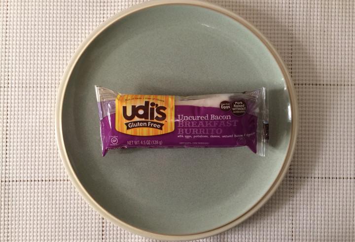 Udi's Uncured Bacon Breakfast Burrito