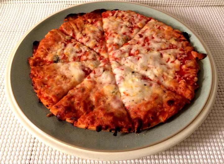 Udi's Three Cheese Pizza