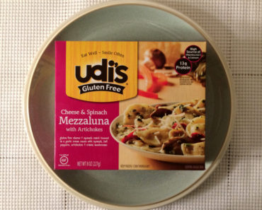 Udi's Cheese & Spinach Mezzaluna Review