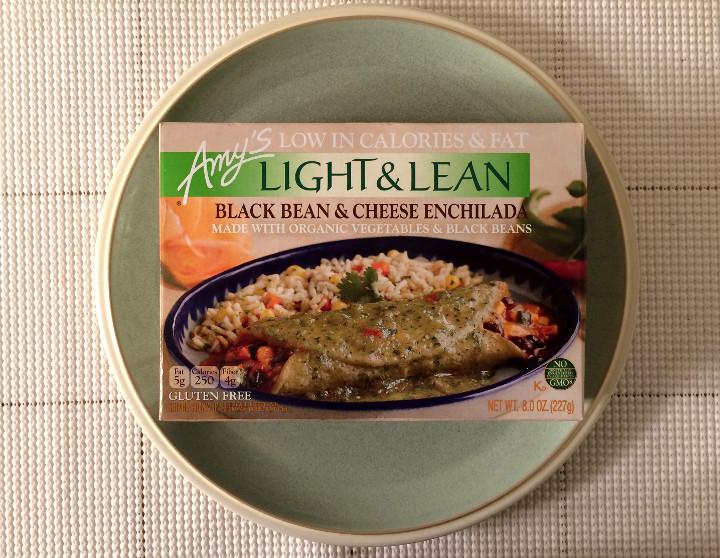 Amy's Light & Lean Black Bean & Cheese Enchilada