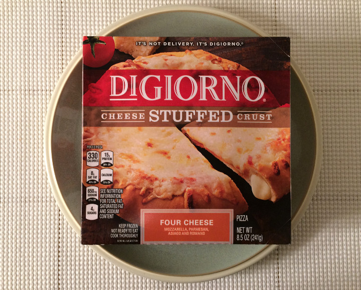 DiGiorno Stuffed Crust Cheese Pizza Review