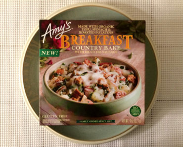 Amy's Country Breakfast Bake with Meatless Sausage