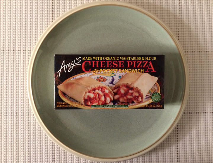 Amy's Cheese Pizza in a Pocket Sandwich