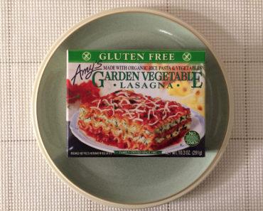 Amy's Gluten Free Garden Vegetable Lasagna Review
