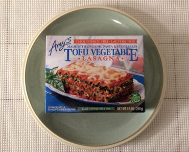Amy's Tofu Vegetable Lasagna