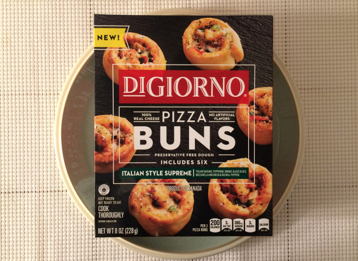 Digiorno Italian Style Supreme Pizza Buns Review Freezer Meal Frenzy