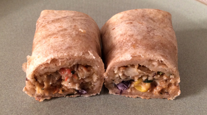 Good Food Made Simple Chicken & Black Bean Burrito