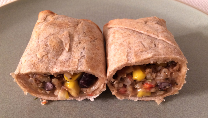 Good Food Made Simple Steak & Black Bean Burrito