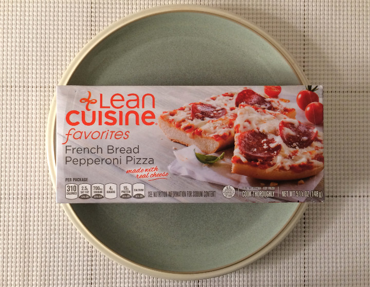 Lean Cuisine French Bread Pepperoni Pizza