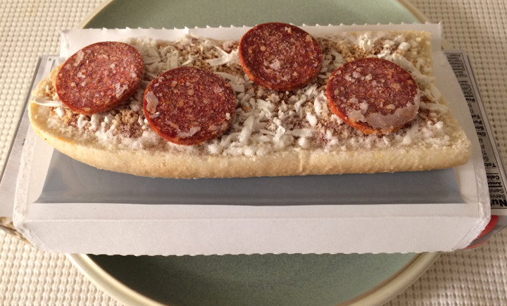 Lean Cuisine French Bread Pepperoni Pizza