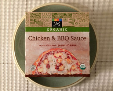 365 Everyday Value Chicken & BBQ Sauce Individual Size Pizza