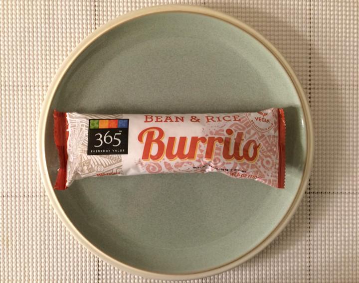 365 Everyday Value Bean & Rice Burrito