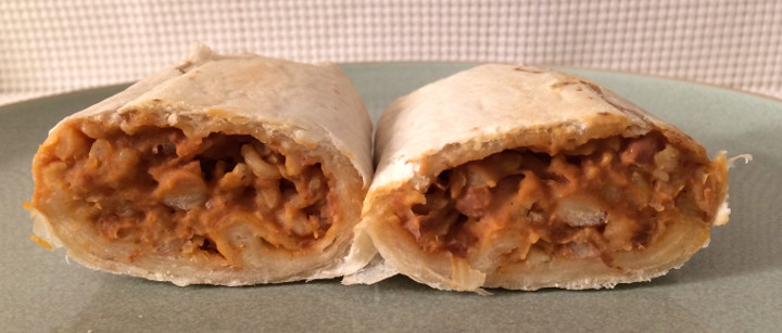 365 Everyday Value Bean & Rice Burrito