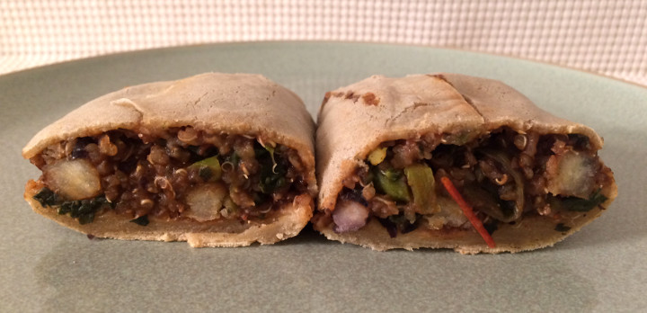 Amy's Gluten Free Black Bean & Quinoa Burrito