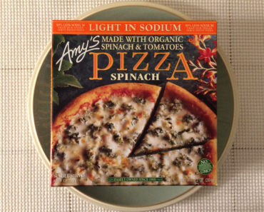 Amy's Light in Sodium Spinach Pizza