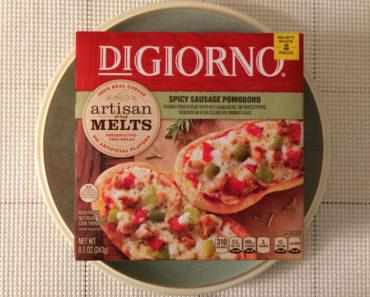 DiGiorno Spicy Sausage Pomodoro Artisan Style Melts