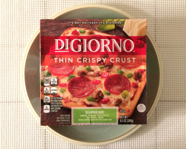 DiGiorno Thin Crispy Crust Supreme Pizza