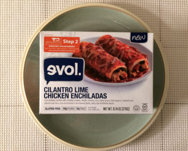 Evol Cilantro Lime Chicken Enchiladas