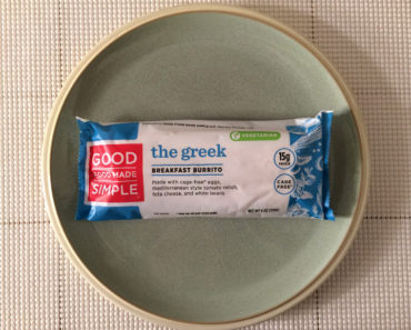 Good Food Made Simple Greek Breakfast Burrito