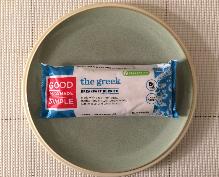 Good Food Made Simple Greek Breakfast Burrito