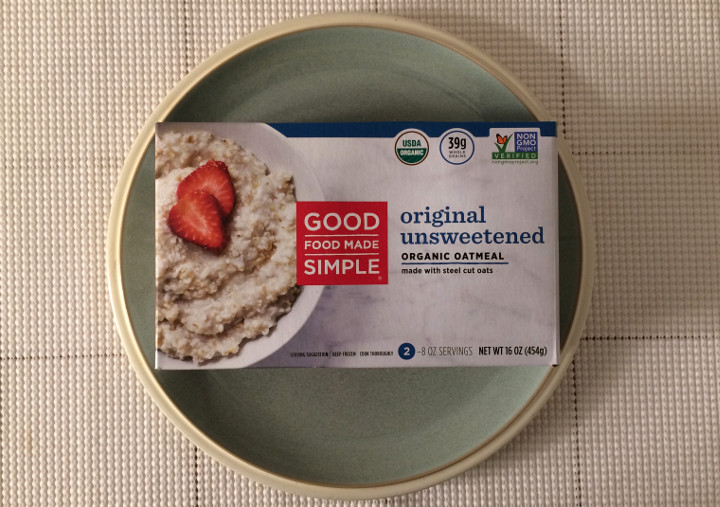 Good Food Made Simple Original Unsweetened Organic Oatmeal