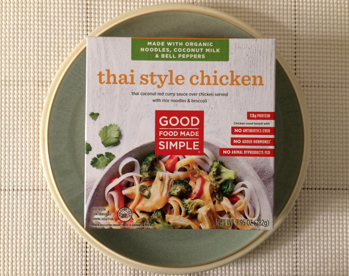 Good Food Made Simple Thai Style Chicken Review Freezer Meal Frenzy